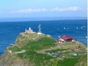 夏の高島岬