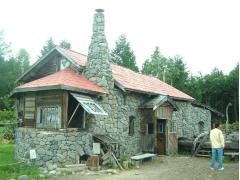 「北の国から」石の家