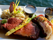 Royal Menu - Prime Rib & Lobster Tail