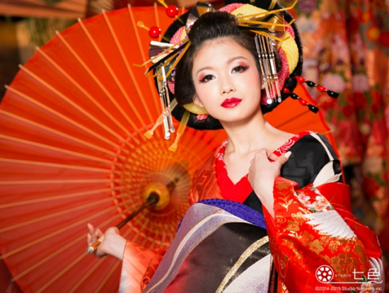 Half Day Stylish Oiran Geisha Or Maiko Style Dress And