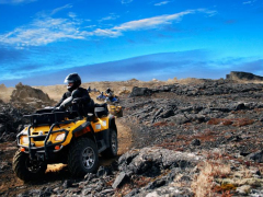 ATV trail ride