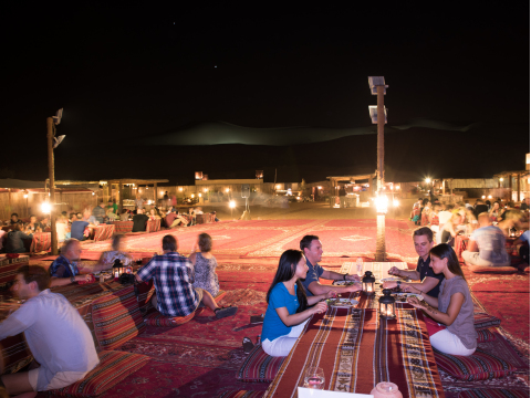 Bedouin Style Camp