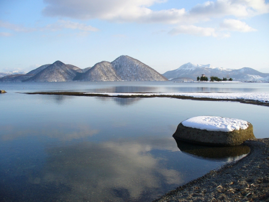 Full Day Natural Scenery Winter Tour Of Lake Shikotsu And