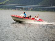 河口湖モーターボート