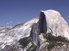 Olmsted Point, the back side of Half Dome