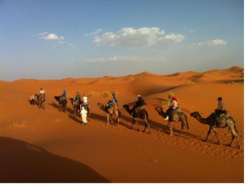 サハラ砂漠への旅