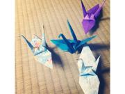 折り紙 つる