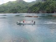 秋目湾ボート01