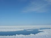 photolibrary網走 流氷の裂け目