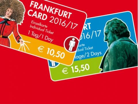自由旅行の強い味方☆フランクフルトカード