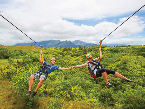 Zipline Adventures Outdoor Adventures Tours Hawaii Tours - 7 best things to do for thrill seekers in hawaii