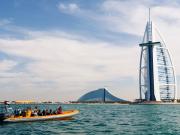 Burj Al Arab, speed boat