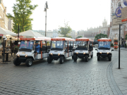 Cracow sightseeing by eco-vehicle 1