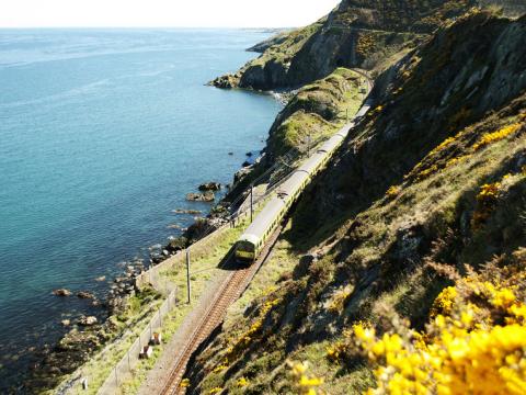 列車で巡るアイルランド