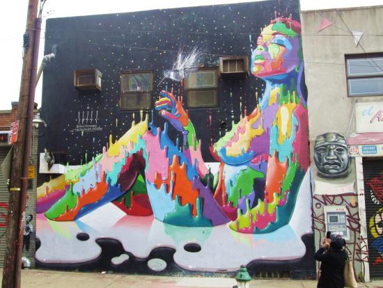ブルックリンのストリートアート