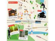 嵐山60分コースルート例