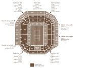 Number One Court Debenture Ticket Locations