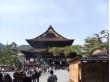 善光寺本堂(正面)