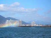 びわ湖の風景