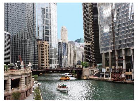 シカゴの建築鑑賞ツアー