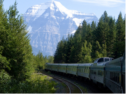 カナダ大陸横断 VIA鉄道列車チケット