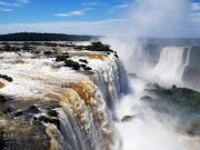 イグアスの滝 ブラジル側展望台より撮影