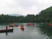 カヤック カナディアンカヌー体験教室1 青木湖