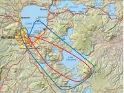 Map of 3A & 3B Tour