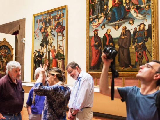 Italian Florence: Skip The Line: Accademia And Uffizi Gallery Guided Tour