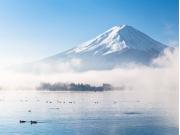 Mt Fuji Lake Kawaguchi cropped