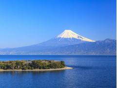 Mt Fuji lake and scenery cropped