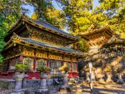 Toshogu Shrine sunrise