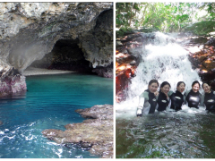 青の洞窟&滝遊用画像