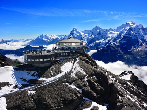 スイス 展望台・絶景観賞