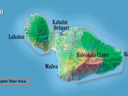 Sunshine Heli west maui molokai flught map_2