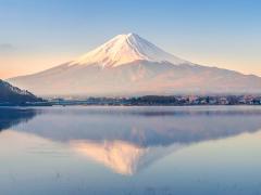 Mt Fuji morning cropped