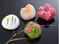 Colorful Wagashi cropped