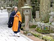 Koya san monk cropped