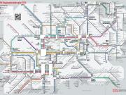 ノルトライン・ヴェストファーレン州路線図
