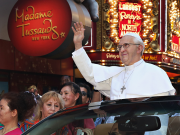 USA_New York_Madame Tussauds_Pope