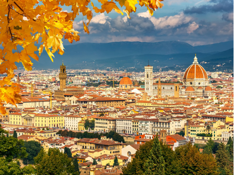 フィレンツェ観光ガイドツアー
