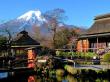 Oshino Hakkai and Fuji