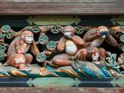 Toshogu monkeys cropped