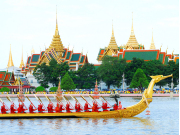 The Grand Palace by Chao Phraya River