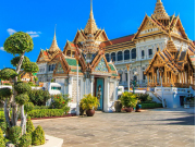 Intricate architecture of Bangkok Grand Palace