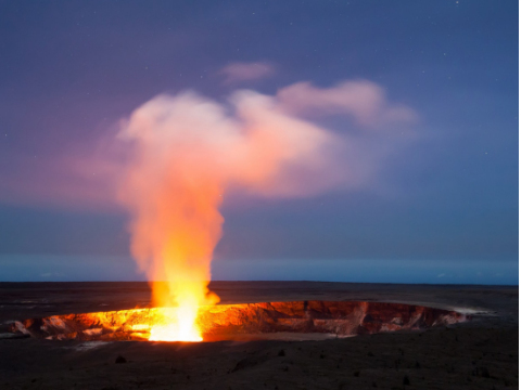 キラウエア火山国立公園