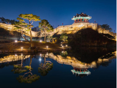 Hwaseong fortress night
