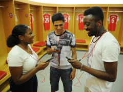 Emirates Stadium Tour 26 160719MAFC