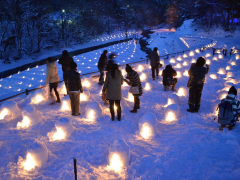湯西川かまくら祭