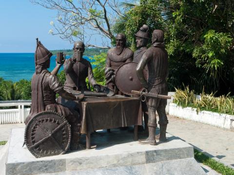 ボホール島_血盟記念碑